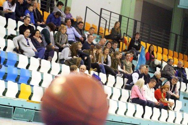 V posledných rokoch chodila na mužský basketbal už len hŕstka fanúšikov. Veľký rozdiel oproti zlatým sezónam.