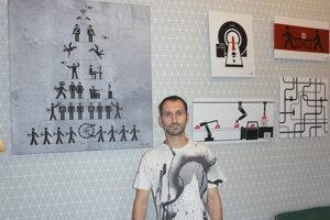 Výstava Richarda Ototta potrvá do 31. júla.