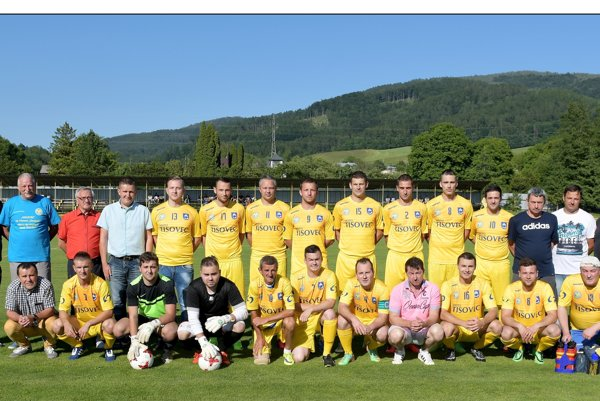 FK CSM Tisovec a realizačný tím.