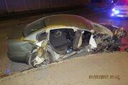 Nehodu neprežil mladý Matej.