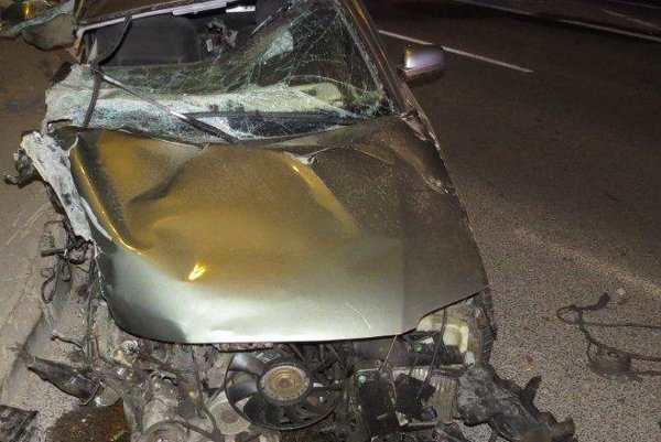 Vodičovi namerali po nehode 1,38 promile.