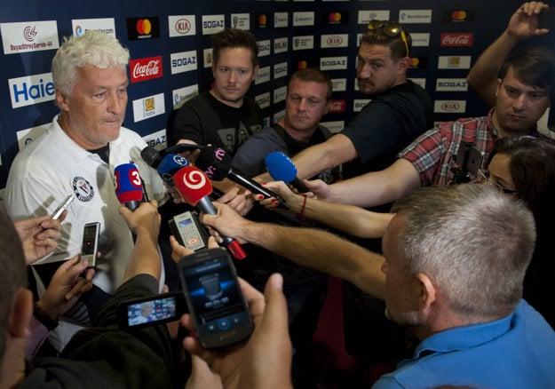 Miloš Říha, tréner Slovana Bratislava.