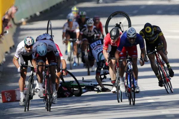 Peter Sagan na Tour de France skončil.
