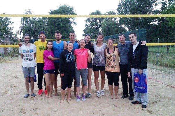 Snímka najlepších dvojíc z prvého ročníka turnaja v Zlatých Moravciach.