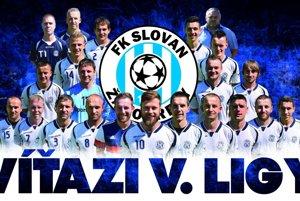 Slovan Žabokreky - víťaz V. ligy, sk. B.