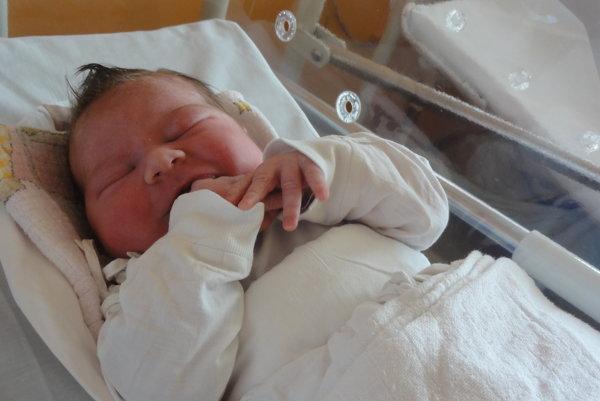 """Od  stredy 28. júna majú rodičia  Monika a Jozef z Rakovej  doma veselo.  V tento deň sa im narodilo tretie dieťatko - dcérka Anna Perďochová (4350g, 56 cm). Na sestričku sa už doma veľmi tešia päťročná Monika a dvojročná Lucka. Meno Anna je hebrejského pôvodu a v preklade znamená  """"milá""""."""