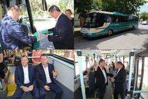 Kolaudácia nového autobusu MHD vŠuranoch
