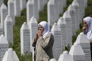 Bosnianske mesto Srebrenica.