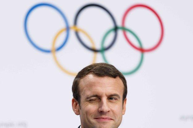 Francúzsky prezident Emmanuel Macron sa vyjadril, že štvrtýkrát už Francúzsko prehrať boj o OH nechce.