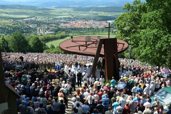 Púť nad Levočou. Najstaršie pútnické miesto na východnom Slovensku.
