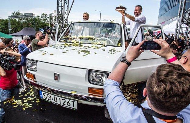 Malý Fiat pre Toma Hanksa už mal v Poľsku svoju premiéru. K svojmu majiteľovi sa dostane v novembri.