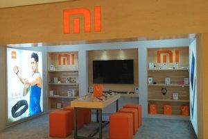 Predajňa Xiaomi Mi Home v Abú Zabí v Spojených arabských emirátoch.