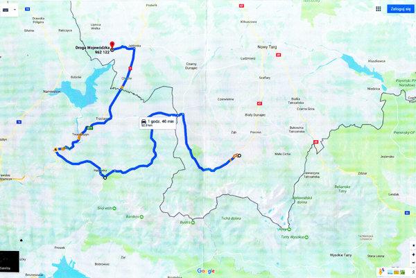 Po tejto trase, od Zakopaného po Zverovku, by mala premávať medzinárodná autobusová linka.
