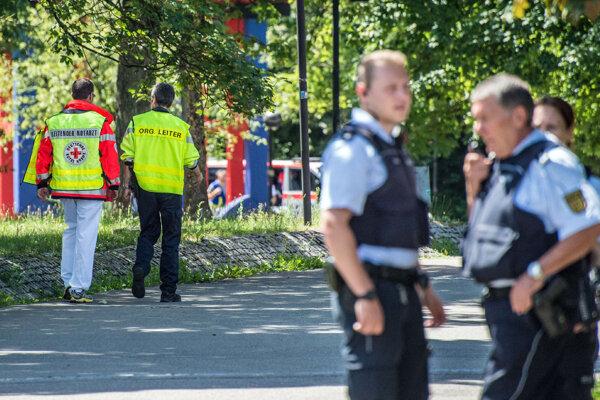 Výbuch automatu na železničnej stranici v nemeckom Halle zabil mladíka