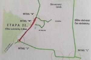 Druhá etapa rekonštrukcie cesty III/1082.