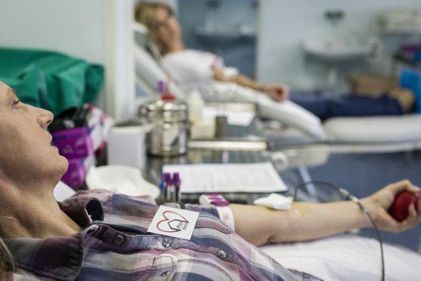 Pri odbere aj podaní krvi je veľmi dôležité, aby sa správne identifikovala jej krvná skupina. Ilustračné foto