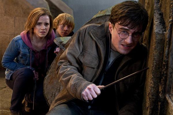 Scéna z filmu Harry Potter a Dary smrti, časť II.