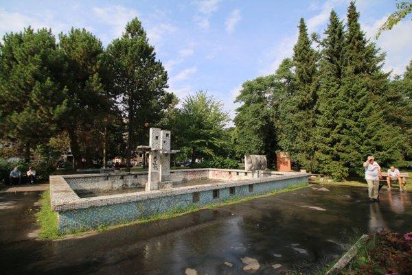 Súčasťou renovácie parku bude aj oprava fontány.