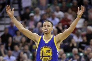 Stephen Curry je hviezdou Golden State Warriors.
