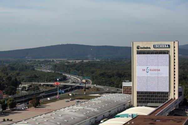 Bratislavské výstavisko Incheba počas predsedníctva Slovenska Európskej únii.