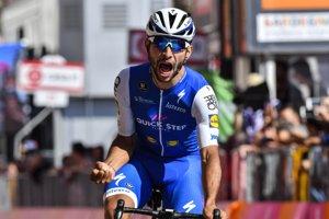 Fernando Gaviria patrí medzi vychádzajúce hviezdy, na Giro d'Italia 2017 vyhral štyri etapy.