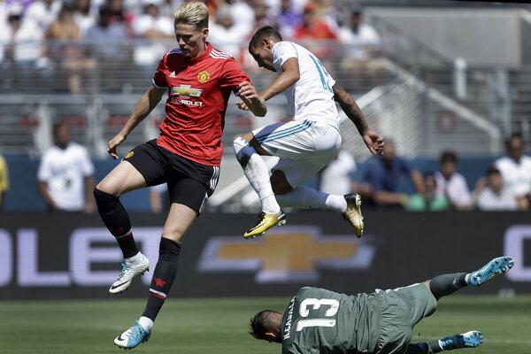 Futbalisti Manchesteru United si zmerali sily s Realom Madrid aj v prípravnom období. Po penaltovom rozstrele sa napokon tešil anglický klub.
