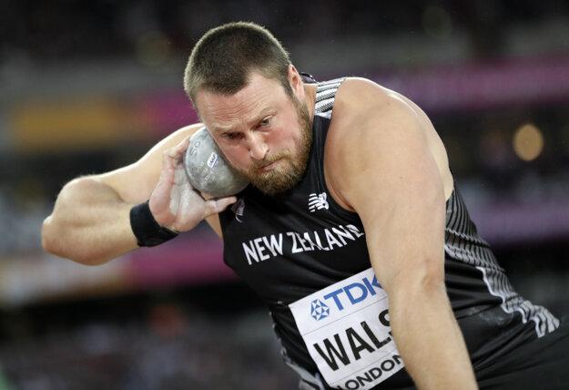 Tom Walsh ako jediný prehodil hranicu 22 metrov.