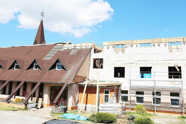 Rekonštrukciou pribudne vpastoračnom centre hneď niekoľko miestností.