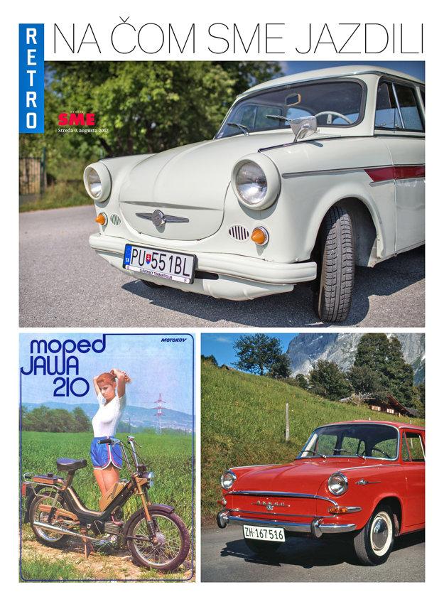 Špeciálna príloha Ako sme jazdili vyjde v denníku SME v stredu 9. augusta.