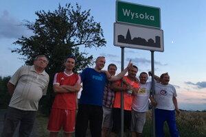 Výprava Vysokej nad Kysucou na podujatí vPoľsku.