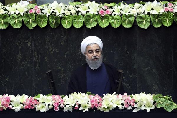 Znovuzvolený prezident Iránu Hasan Rúhání.