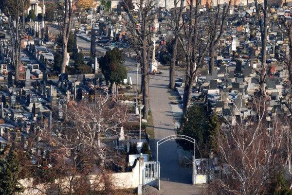 Cintorín v malackách - ilustračné foto