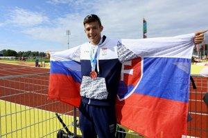 Andrej Paulíny vybojoval bronz, má cenu zlata.