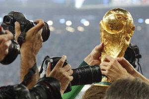 Trofej pre futbalových majstrov sveta.
