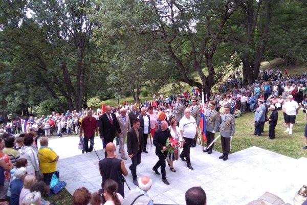 Na dnešné Stretnutie generácií prišlo okolo 3 tisíc ľudí.
