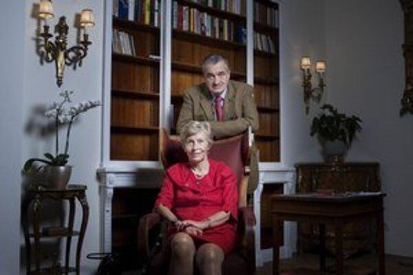 Therese Schwarzenbergová s manželom Karlom.