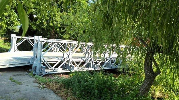 Opravený most v Šuranoch