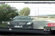 Vodič Mercedesu dvojnásobne prekročil rýchlosť.
