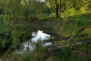 Z bývalého jazera ostalo len torzo.