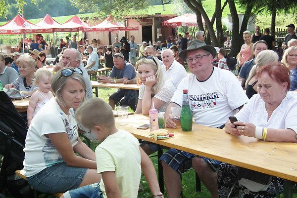 Festival má už veľa pravidelných návštevníkov.