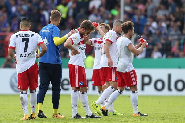 Hráči klubu Hamburger SV.