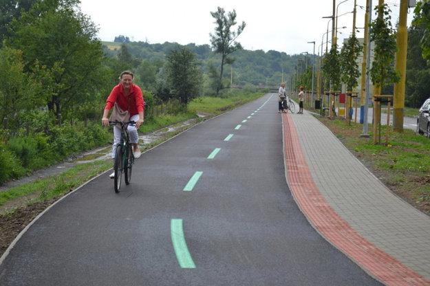 Prešov – Bajkalská. Cyklochodník otvorili v júli.