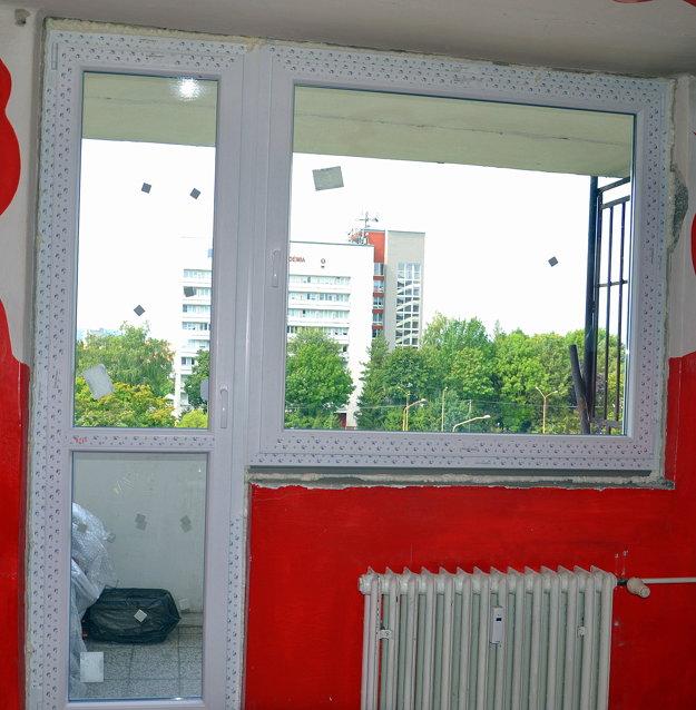 Nové okná.
