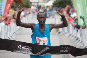 Banskobystrický maratón ovládol Keňan Karim Kwemoi.