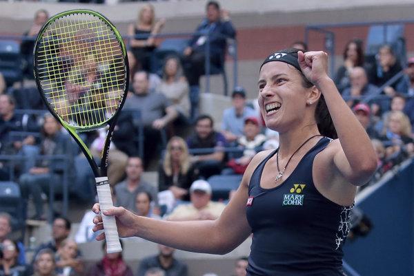 Anastasija Sevastovová zdolala Sloane Stephensovú v dvoch setoch.