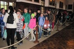 Ukrajinským deťom sa v bojnickom zámku páčilo.