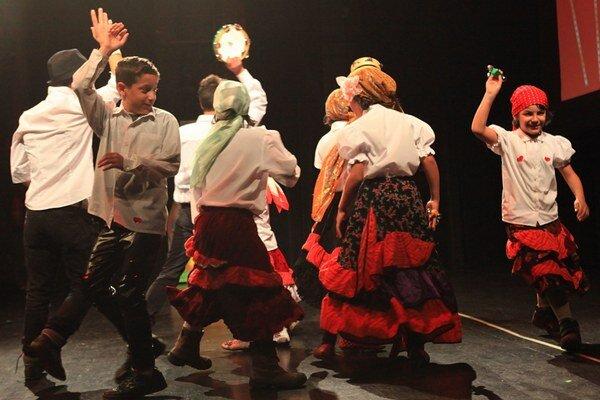 Deti ukázali, ako vedia tancovať, spievať a recitovať.