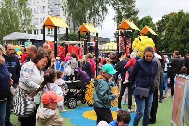 Deti v Tvrdošíne sa v sobotu prvýkrát zahrali v Žihadielku.