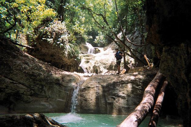 Vodopády Damajagua.