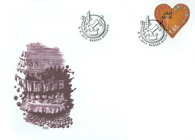 Nová známka vydaná Slovenskou poštou k 360-ročnému jubileu Radvanského jarmoku.
